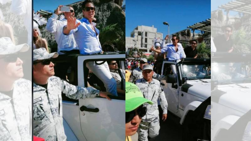 Palazuelos convierte en Guarros a la Guardia Nacional