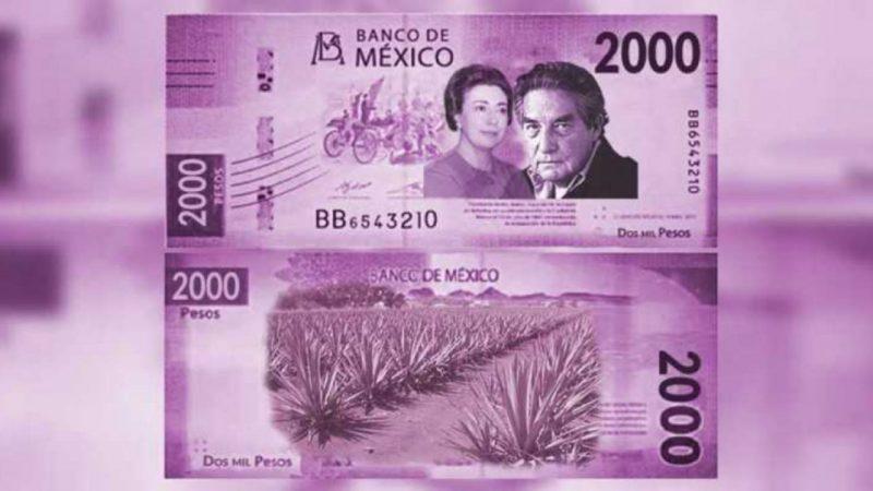 Este podría ser el nuevo billete de 2mil pesos