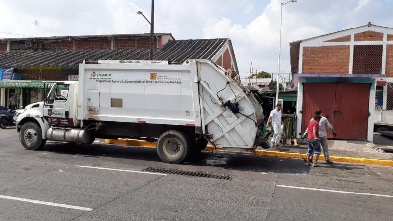 No hay suspensión del servicio de Limpia Pública
