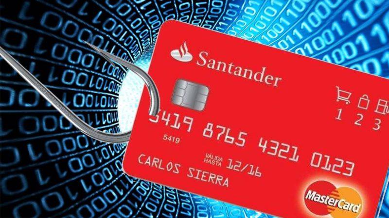 Alertan sobre falso correo del Banco Santander